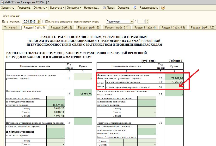Как сделать отчет 4 фсс за - Kazan-avon