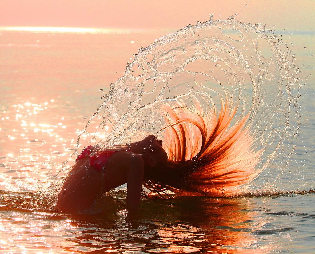 Фотографии рыжих девушек у моря 26 фотография